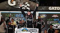 Victory Lane: Johnny Sauter Wins in Daytona