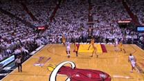 LeBron Beats the Buzzer