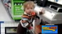 Dancing Baby Headbangs at Walmart in YouTube Video