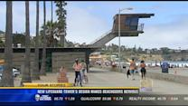 New lifeguard tower's design makes beachgoers nervous