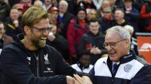 Jurgen Klopp all too aware that he could go the same way as Claudio Ranieri if Liverpool do not win trophies