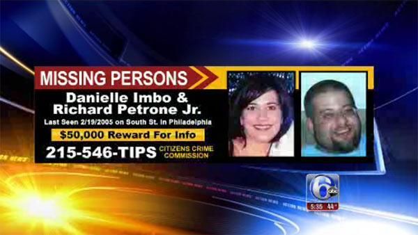 $50K reward offered in search for couple missing since '05