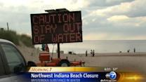 Food additive believed to be silver substance in Dunes beach water
