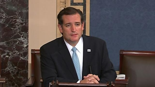 Cruz Filibusters With 'Green Eggs and Ham,' 'Redneck Rules'