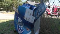 Man runs back into burning house to save beer