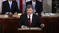 Ukrainian president to Congress: We need more help