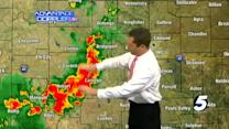 Damon's 7:10 p.m. severe weather update