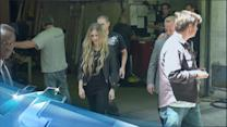 Avril Lavigne Reveals Another Zane-y Co-Star For Her Rock N Roll Music Video!