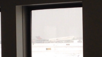 Plane Landing at LaGuardia Skids Off Runway