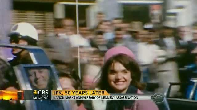 JFK: Nation pays tribute to fallen president on 50th anniversary of assassination