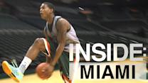 Inside: Miami | Rion Brown and James Kelly Perform Nasty Alley-Oop Trick Shot
