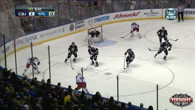 Columbus Blue Jackets at St. Louis Blues - 01/04/2014