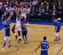 Karl-Anthony Towns Faked Out Two Raptors Defenders Before Dunking All Over Jonas Valanciunas