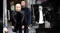 Kim Kardashian & Jared Leto Show Off Platinum Blonde Hair