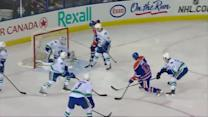Pinizzotto sets up Horak for the one-timer