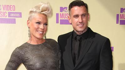 2012 MTV Video Music Awards: Pink And Carey Hart's Night Out
