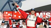 Victory Lane: Hornish Jr. Celebrates 2nd Career Win