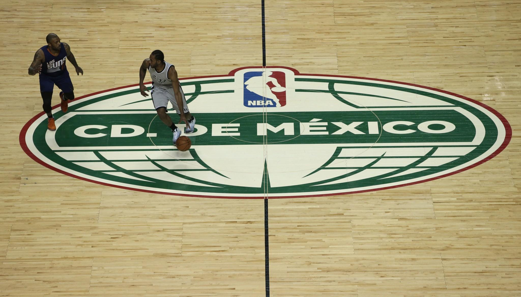 The NBA may look to hold 'some sort of midseason tournament' in Mexico