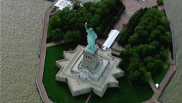 Statue of Liberty officially reopens to visitors