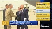 CNBC update: VP Biden's surprise trip to Iraq