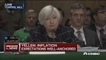 'Marked improvement' in U.S. banking system: Yellen