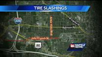 Tires slashed in Jackson neighborhood