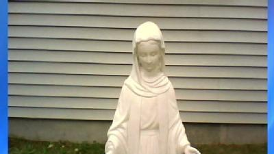 Couple's Virgin Mary Statue Stolen Twice