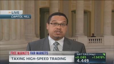 Tax high-speed trading: Congressman