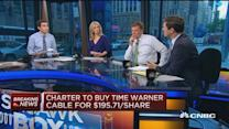 Charter to pay $100/share cash plus 0.54 shares