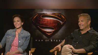 Kevin Costner And Diane Lane Talk 'Man Of Steel'