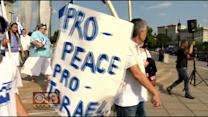 Pro- And Anti-Israel Rallies Held In Baltimore Wednesday