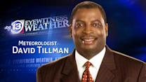 David Tillman's Friday weather forecast