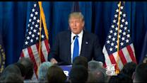 Trump Campaigns In NH, Says He Will Restore American Dream