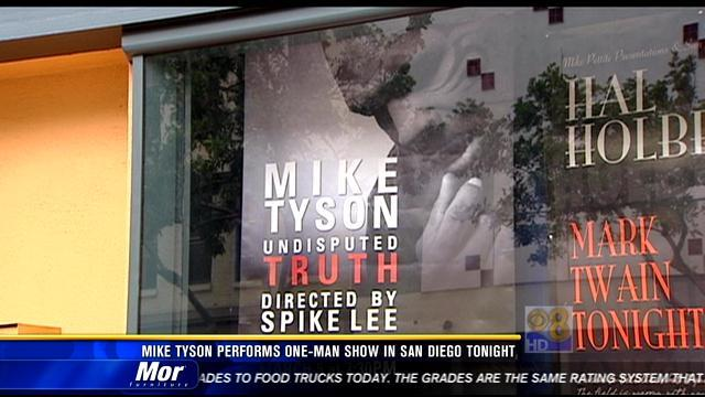 Mike Tyson performs one-man show in San Diego