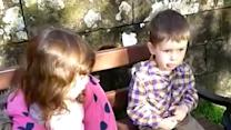 Little Girl Gives Baby Brother Advice
