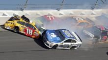 Dale Earnhardt Jr. has a scare in the Daytona 500