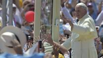 Hundreds of Thousands Gather to See Pope Francis