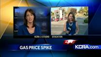 California gas prices jump