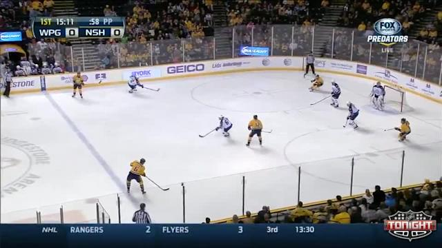 Winnipeg Jets at Nashville Predators - 03/01/2014