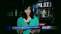 Students take extra precautions after abduction attempts