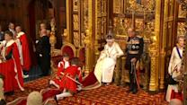 Queen Elizabeth delivers speech at state opening of parliament