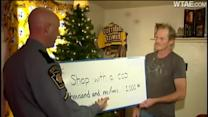 Shop With a Cop Donation