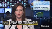 Gilead gets approval for hep C drug