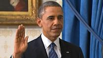 Official Oath of Office 2013: President Obama