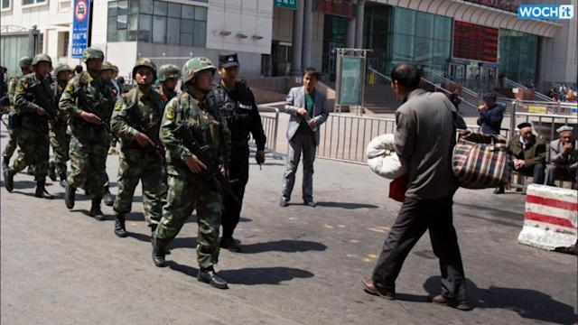 China: 9 Terror Suspects Killed In Restive Xinjiang Region