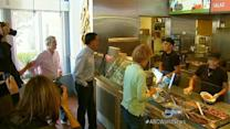 Mitt Romney Eats at Chipotle Before Debate Prep