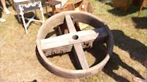 How to Turn a Wheel Into a Coffee Table