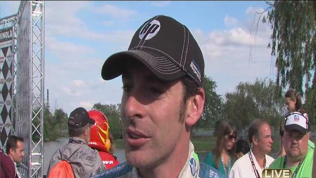 Simon Pagenaud wins Sunday's Detroit Grand Prix race