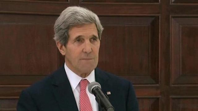 Kerry says progress made in peace talks, serious questions ahead