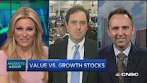 Growth vs. value stocks